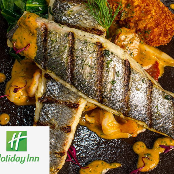 Holiday Inn Westhill <br><br><h5>Social Media Campaign, Menu Design, Hospitality Gifts, Photography, Videography</h5>