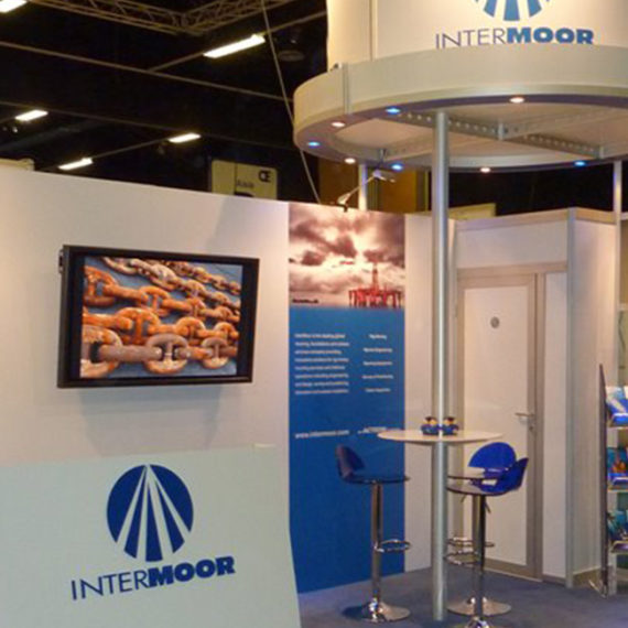 Intermoor <br><br><h5>Exhibitions, Offshore Europe, Banners, 3D Visualisation</h5>