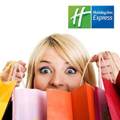 Holiday Inn Express <br><br><h5>Printing, Menu Design, Corporate Gifts</h5>
