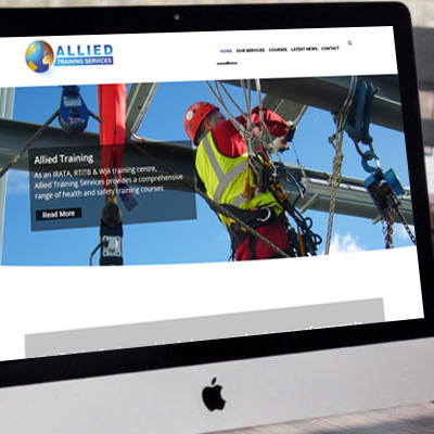 Allied Training Services <br><br><h5>Web Design, Printing, Photography</h5>