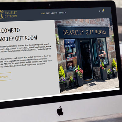 Brakeley Gift Room <br><br><h5>E-Commerce, Photography</h5>