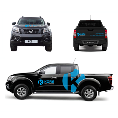 Kore Solutions <br><br><h5>Printing, Data Management, Vehicle Livery, PDF Documents, Signage</h5>